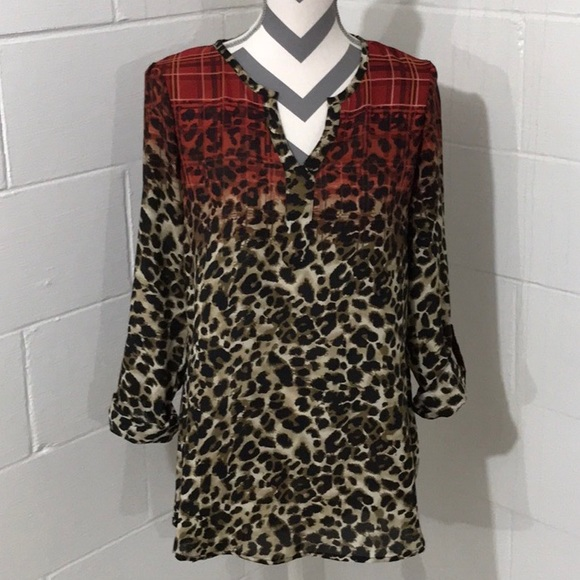 ba4af75203c Cato Tops - CLEARANCE ⬇ CATO Animal Print Tunic